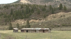 History  Spring Building Ranch Stock Footage