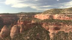 Desert Colorado National Monument Spring Coke Ovens - stock footage