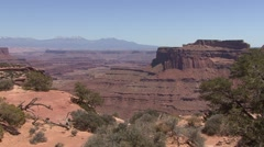Desert Canyonlands National Park Spring - stock footage