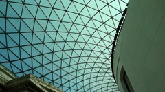Stock Video Footage of The British Museum London UK