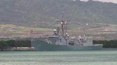 Armada Nacional de la Republica de Colombia Almirante Padilla FFL-51 Stock Footage