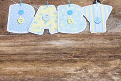 baby shower - stock photo