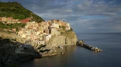 Italy, Liguria, Cinque Terre, Manarola - stock footage