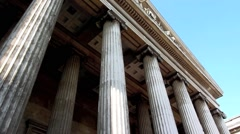 The British Museum London UK Stock Footage