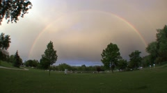 Other Rapid City Winter Dusk Rainbow Stock Footage