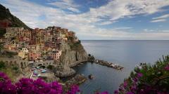 Italy, Liguria, Cinque Terre, Manarola Stock Footage