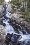 Upper Continental Falls - stock photo