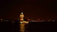 Maiden Tower  Stock Footage