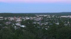 Flagstaff Overlook at Dusk Stock Footage