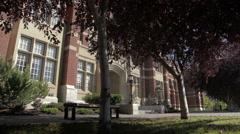 Sait - Heritage Hall Stock Footage