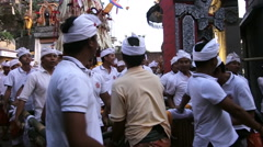Traditional Culture Ceremony In Bali - stock footage