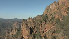 Savannah Pinnacles National Monument Winter Scrub Chaparral - stock footage