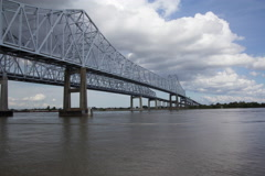 Mississippi River Time Lapse Stock Footage
