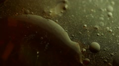 Abstract Liquid Texture background - stock footage