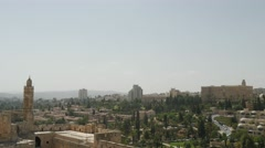 Jerusalem - Skyline - 30P - UHD 4K Stock Footage