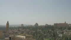 Jerusalem - Skyline - 30P - UHD 4K - Flat Stock Footage