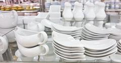 utensil shop - stock photo