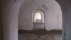 4 Curved Arches Stock Footage