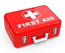 the first-aid box - stock illustration
