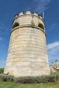 tower chateau cos d'estournel saint-estephe - stock photo