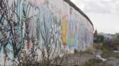Berlin Wall Stock Footage