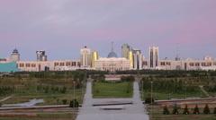 Stock Video Footage of Kazakhstan, Astana, City Skyline