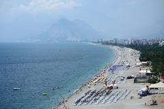 Antalya's beach - stock photo