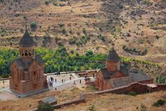 Noravank monastery in Armenia - stock photo