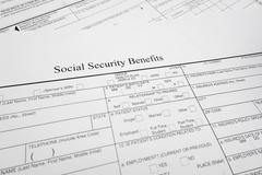 Social security benefits Kuvituskuvat