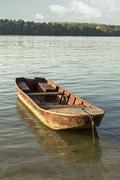 Stock Photo of old fishing boat.