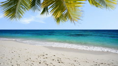 Tropical beach - stock footage