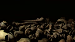Paris Catacombs  Multiple Clips Series1 at 50fps Stock Footage