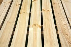 light golden wooden plank - stock photo
