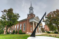 lutheran seminary, gettysburg, pa - stock photo