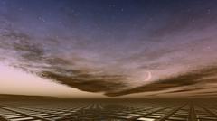 cloudscape - stock illustration