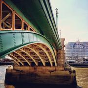 United Kingdom, London, Greater London, Southwark Bridge Stock Photos