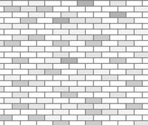 gray bricks texture - stock illustration