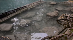 Erawan waterfall in deep forest. HD Stock Footage