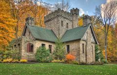 Squire's castle Stock Photos