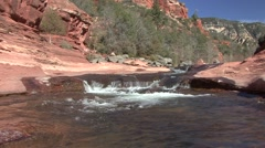 River & Stream Red Rocks State Park Spring Desert Rocks Stock Footage