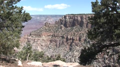 Desert Grand Canyon National Park Spring Canyon Water Erosion - stock footage