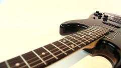 Guitar side dolly Stock Footage