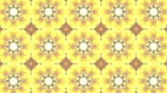 Hypnotic Flower kaleidoscope background - 1080p Stock Footage