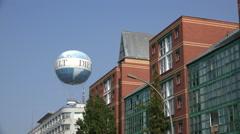 Weltballon Berlin Stock Footage