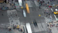 4K New York City Madison Square Traffic Timelapse 3b Footage