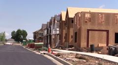 Land Use Boulder Summer Development Construction Stock Footage
