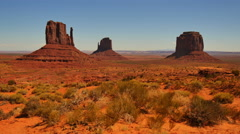 4K Monument Valley Day 25 USA Stock Footage