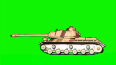 Toy-tank 4 Stock Footage