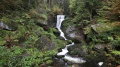 Triberg waterfalls - Germany Stock Footage