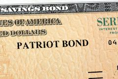 United States Savings Bonds Stock Photos